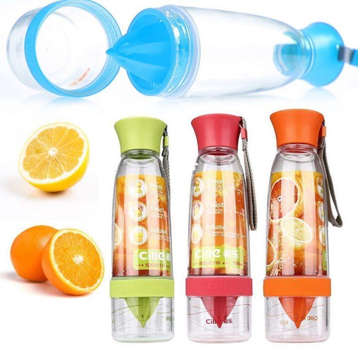 citrus drink bottle for lemon or orange
