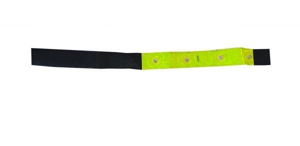 High vis LED wrist band