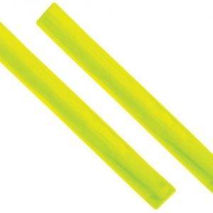 reflective high visibility slap arm band