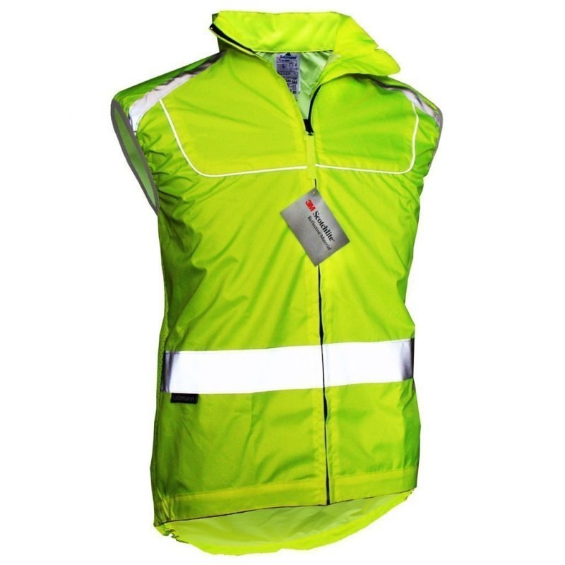 salzamann relective cycle or running jacket breathable