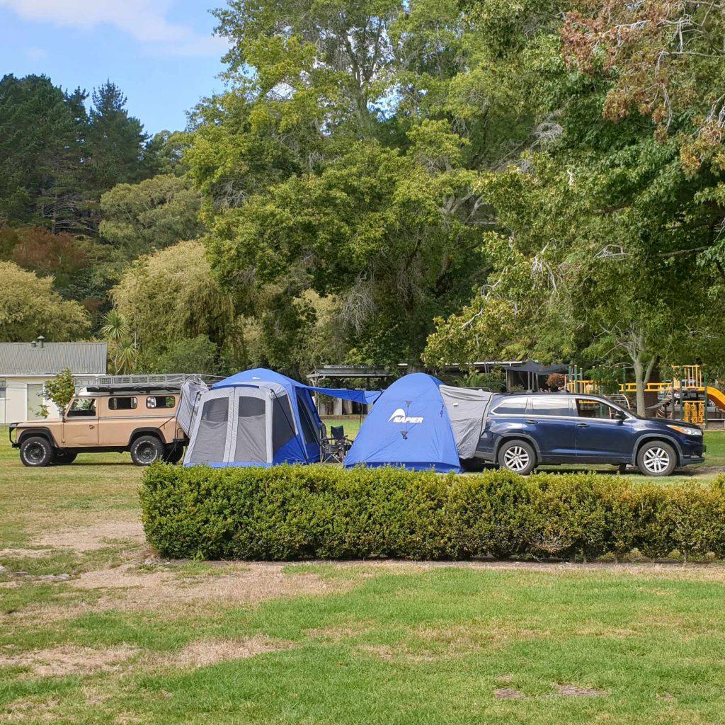 Napier Vehicle Tents