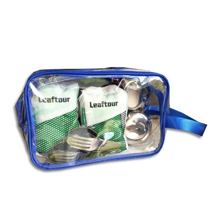 Kitchenware Camp Travel Kit Green