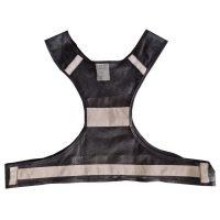black high visibility vest1